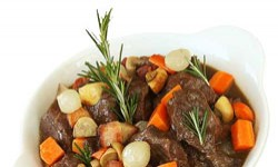 Filet Mignon a Bourguignon