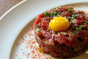 Steak Tartare de Filet Mignon